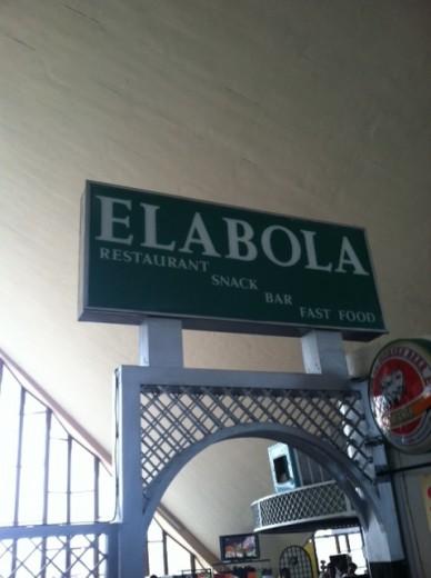 Elabola. Not a good name for a snack bar.