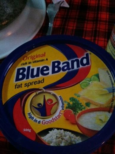 """Tanzanian """"Fat Spread."""" I can't believe it's not butter!"""