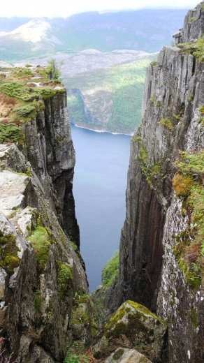 A view of the Lysefjord