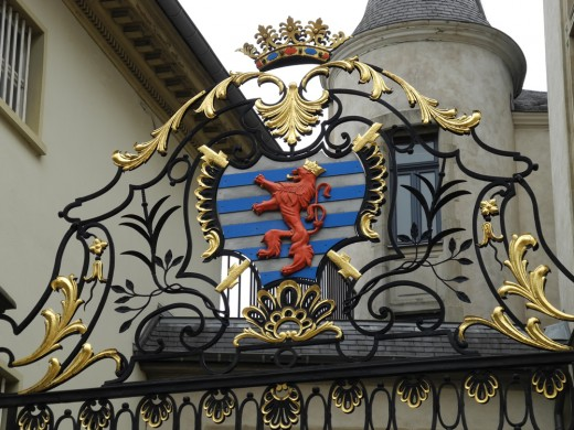 Details of the Luxembourg Palace