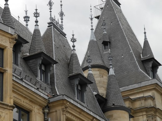Details of the Palace's Roof