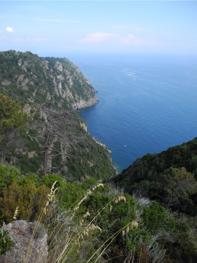 View of the Mediterranean Sea