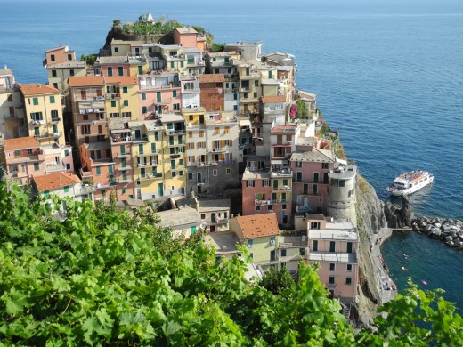 One of the 5 villages of Cinque Terre