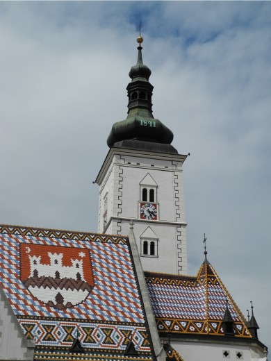 St. Mark's, Zagreb.