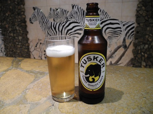 Tusker Beer from Kenya
