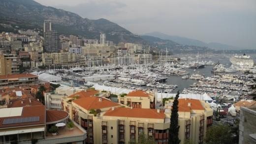 Monte Carlo's harbor