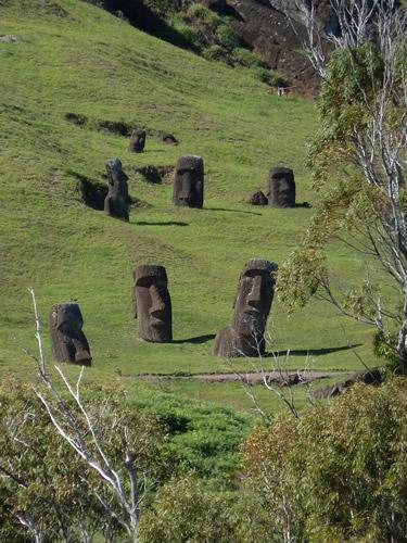 Moai Graveyard