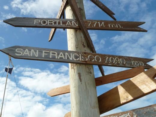 Rapa Nui Signpost