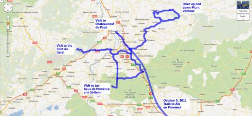 Our day trips around St. Saturnin