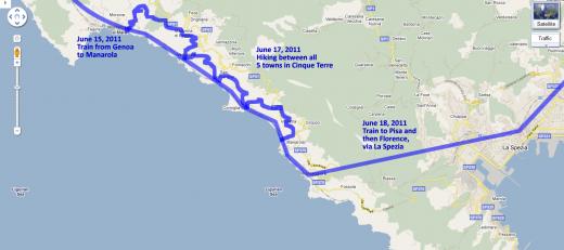 Hikes in Cinque Terre