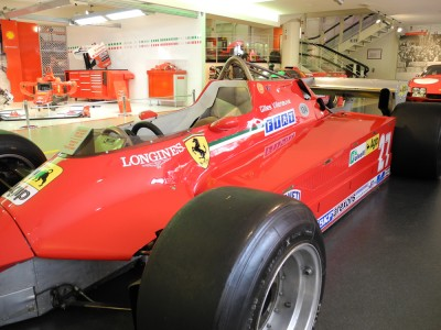 Gilles Villeneuve's 1980 Race Car