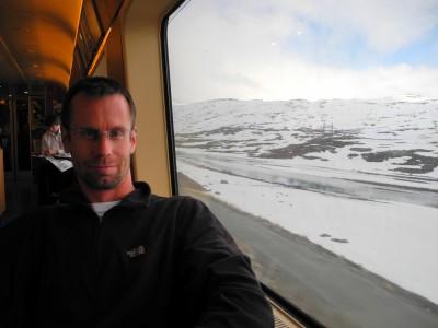 Pierre en route to Bergen