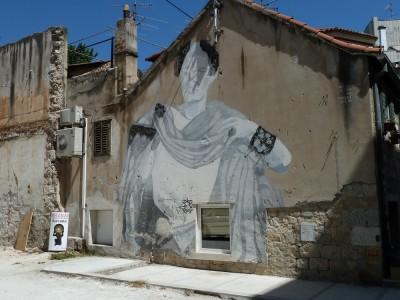 Street art in Split.