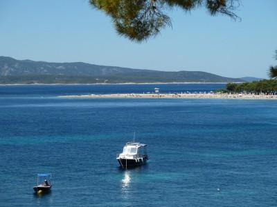 Brac's most famous beach, near Bol.