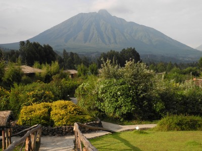 Gorgeous view of one of the volcanoes in the national park.