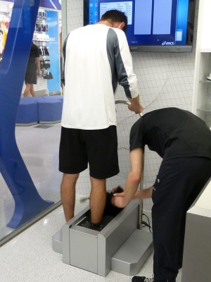 Into the 3D Foot Scanner!