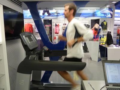 Treadmill time!