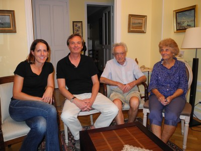 From L-R: Robin, Brice, Jacques, and Denise.