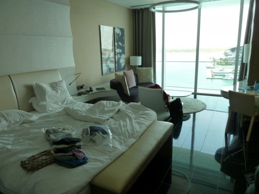 1/3 view of our HUGE room