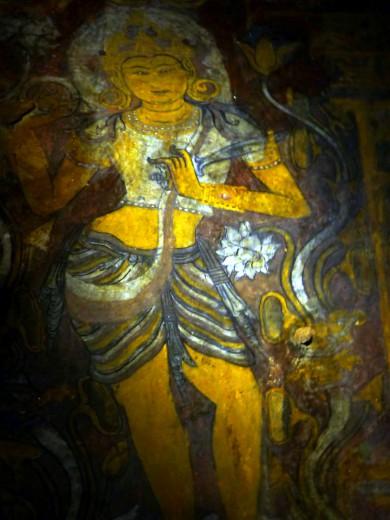 One of the cool frescoes in Ape-ya-da-na
