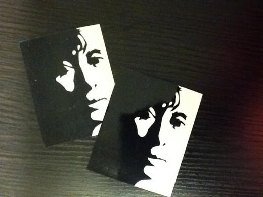 Aung San Suu Kyi stickers