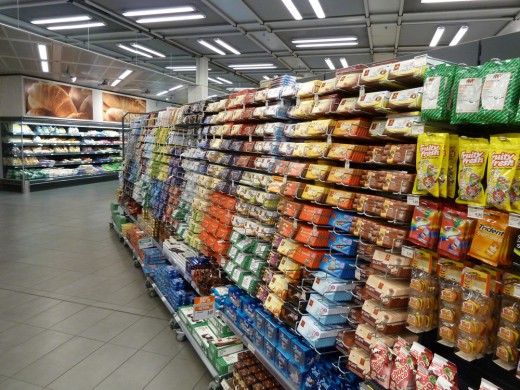You know you're in Switzerland when the chocolate aisle in the grocery store is a mile long.