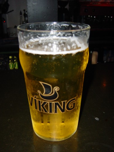 Viking beer in Iceland, circa 2006