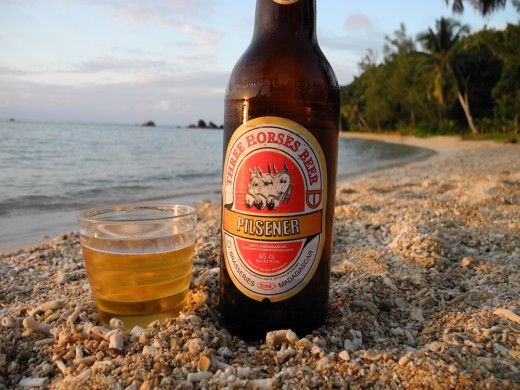 Madagascar beer picture