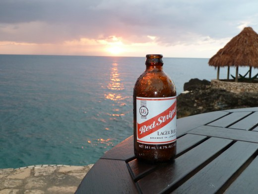 Red Stripe beer picture!