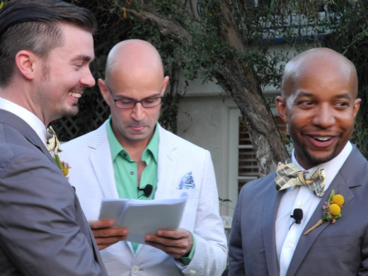 Erik and Daniel get hitched!